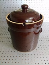 Crock, 10 liter, fermenting, w/weights in 29 Palms, California