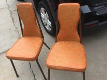 Vintage chairs in Fort Riley, Kansas