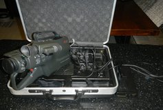 Vintage Panasonic Omnimovie PV-500D Camcorder Video Camera Recorder In Case in Kingwood, Texas