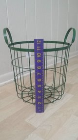 New!  Green Wire / Metal Basket in Glendale Heights, Illinois