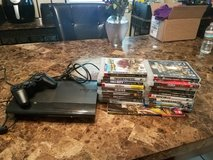 Playstation 3 with accessories and games in Lawton, Oklahoma