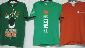 FREE:  3 Men's UT Dallas t-shirts, sizes M and S in Kingwood, Texas