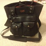 Black Lg. Chaps Handbag - Est. 1978 in Glendale Heights, Illinois