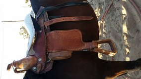 """15"""" western saddle in Yucca Valley, California"""