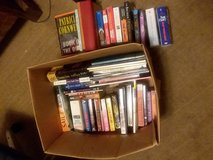Lot of 85.  hard  cover and paperbacks in Beaufort, South Carolina