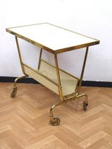 50s Vintage Designer Newspaper Stand, Mid Century Trolley coffee table in Wiesbaden, GE