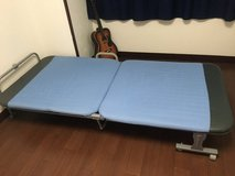 Folding bed in Okinawa, Japan