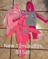NEW with tags 12 month girls outfits in Camp Lejeune, North Carolina