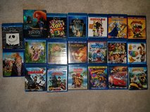 Lot of Kids BluRay Movies in Yorkville, Illinois