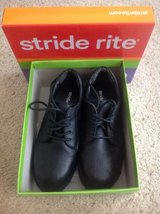 Boys black dress shoes, size 3 in Chicago, Illinois