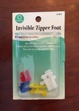 Coats Thread & Zippers Invisible Zipper Foot Multi-Colored in Naperville, Illinois