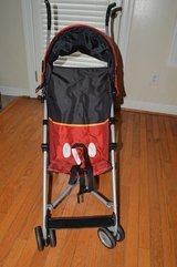 Mickey Mouse Baby Stroller with Canopy in Camp Lejeune, North Carolina