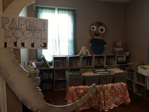 pop up children's book sale Saturday at the Luna Caffe on Castle street in Wilmington, North Carolina
