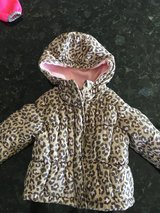 24 month cheetah Carter's winter puffy coat in Chicago, Illinois