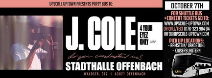 J.Cole 4 Your Eyez Only Party Bus in Ramstein, Germany