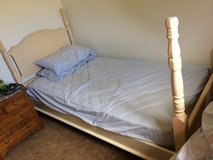 Twin bed with mattress in St. Louis, Missouri