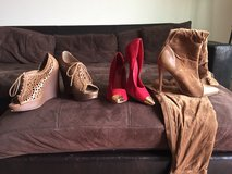 Size 9 woman's Heels and boots in Camp Pendleton, California