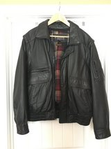 Wilsons Black Genuine Leather Modular 4-in-1 Jacket in Fort Campbell, Kentucky