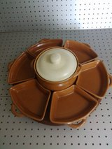 LAST CHANCE  on this Lazy Susan, glazed pottery in 29 Palms, California