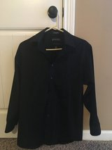 Black Long Sleeved Stafford Button Up Shirt in Fort Campbell, Kentucky