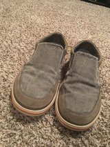 Men's Gray Canvas Skechers Shoes in Fort Campbell, Kentucky