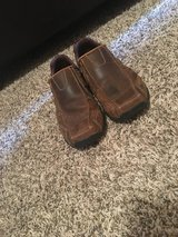 Men's Brown Leather Slip-On Skecher Shoes in Fort Campbell, Kentucky