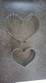 Valentine's Heart Cookie Cutters in St. Charles, Illinois