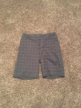 Gray Plaid Mens Shorts in Fort Campbell, Kentucky