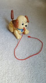 Fisher Price Pull Dog Toy in Bartlett, Illinois