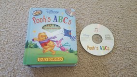 Winnie the Pooh Alphabet Book with CD in Bartlett, Illinois