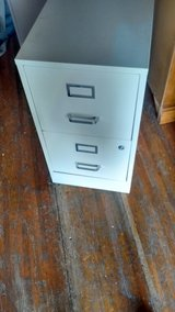 2 drawer file cabinet with lock and key in Louisville, Kentucky