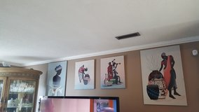 Authentic African paintings in Dothan, Alabama