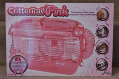 SuperPet CritterTrail Pink Small Rodent Cage – New In Box in Naperville, Illinois