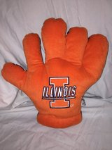 University of Illinois Plush hand in Joliet, Illinois