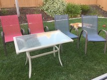 Table and 4 chairs in Camp Pendleton, California