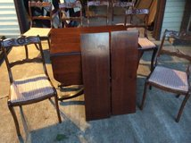 Duncan Phyfe Dining Table and Chairs in Naperville, Illinois