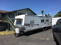 Travel trailer in Vista, California