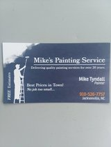 Mike's painting service  22yrs  exp. in Camp Lejeune, North Carolina