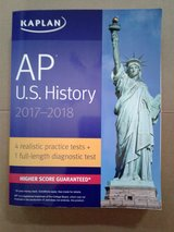 Kaplan A.P. U.S. History Test Prep Book in Chicago, Illinois