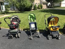Strollers in Naperville, Illinois