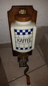wall coffee grinder old in Ramstein, Germany