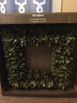 Brand new wood box wreath pier one imports in DeRidder, Louisiana