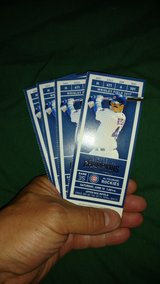 4 Cubs tickets 6/10 1:20 pm vs Rockies in Glendale Heights, Illinois