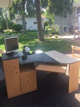 Computer Desk and Chair in Naperville, Illinois