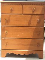 Solid maple dresser in Fort Bragg, North Carolina