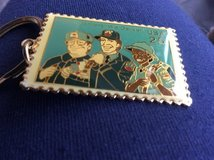 Letter carriers key chain in Batavia, Illinois