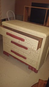 Crackle finish Chest in Naperville, Illinois