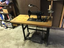 Antique Singer Sewing Table in Naperville, Illinois