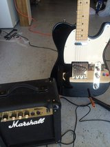 Tradition Telecaster and Marshall Amp in Fort Campbell, Kentucky