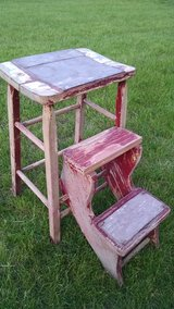 Antique step stool in Fort Drum, New York